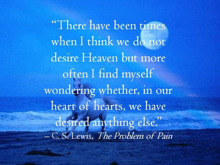 C.S. Lewis On Heaven · Life Wisdom QuotesCs ... Awesome Design