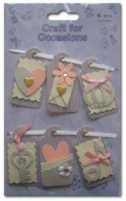 Scrapbooking Embellishments | ... Love + Romance - £1.39 : Card Making + Scrapbooking Craft Supplies