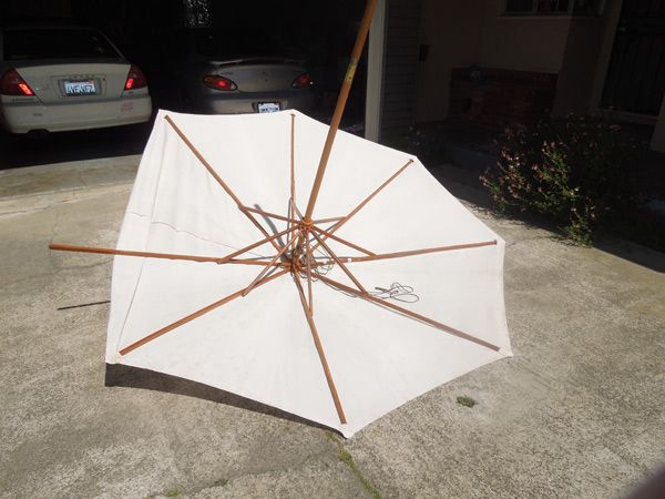 Easy, Illustrated Instructions on How to Make a New Patio Umbrella Canopy