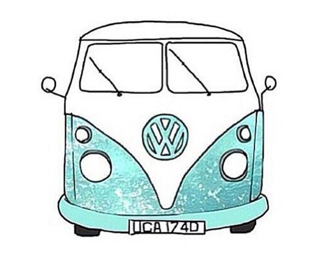 Hippie Van Drawing Wwwimgarcadecom Online Image Arcade