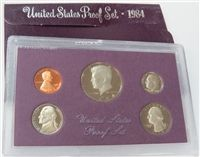 1984-S 5 Coin Proof Set