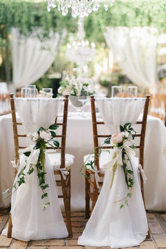comment décorer la chaise de mariage avec une housse de chaise mariage pas cher