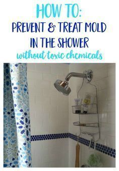 how to get rid of mold in shower with vinegar