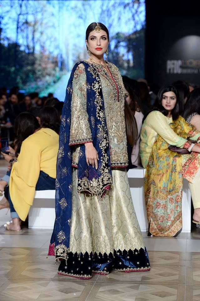 Nickie Nina Beautiful Pakistani Bridals ADEENA Collection at PLBW 2017