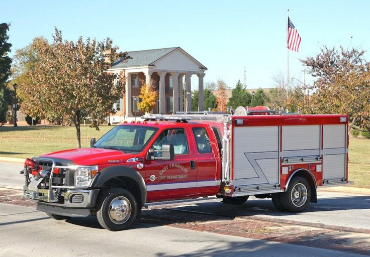 East Franklin Quick Attack Truck Akron 3462 Forestry