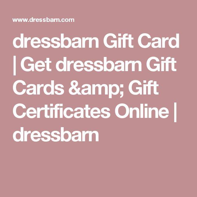 dressbarn Gift Card | Get dressbarn Gift Cards & Gift Certificates Online | dressbarn