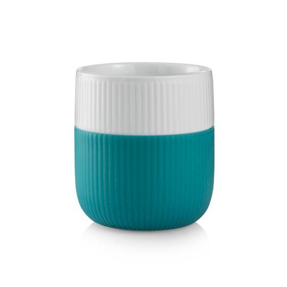 Royal Copenhagen Fluted Contrast Mug - Turquoise
