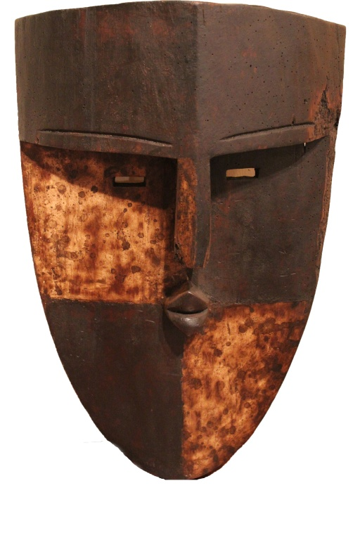 Antique Central African Tribal Mask
