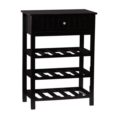 Shop Boston Loft Furnishings Jackson Wine Table At Lowes Canada Find Our Selection Of Racks The Lowest Price Guaranteed With Match Off