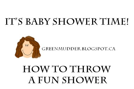 how to throw a fun shower and baby shower decor ideas