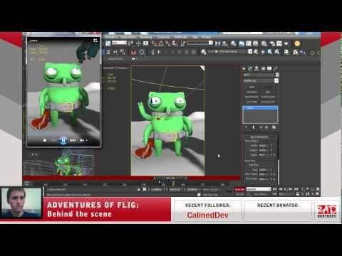 #16. Flig vs Candyeti: Animations in 3ds max #twitch #indie #indiedev #gamedev #aoflig #fligadventures #adventuresofflig #flig