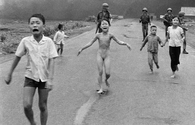 Interview with the girl in the famous Vietnam War photograph. To pair with The Things They Carried.