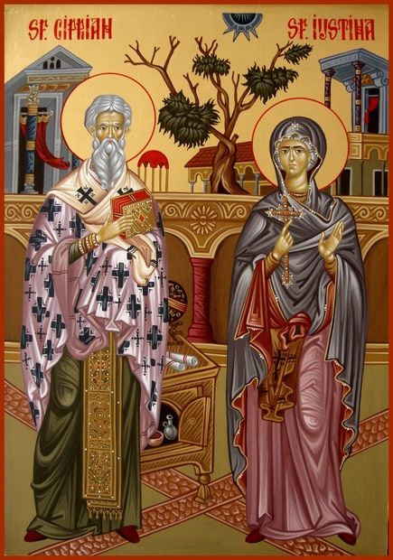St. Cyprian & St. Justina