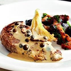 Fazanthaasje met oesterzwammen, groene pepersaus   Carrefour, market, express