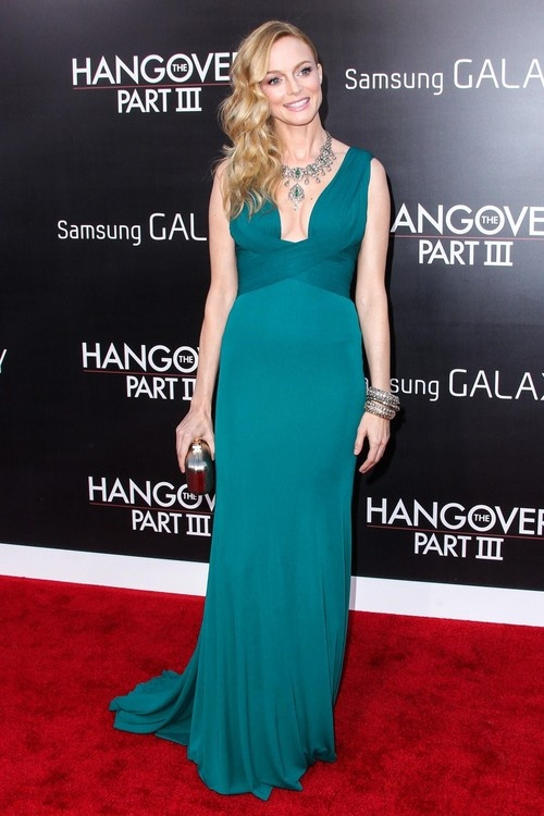 Heather Graham at 'Hangover Part 3' Premiere in Westwood on May 20, 2013