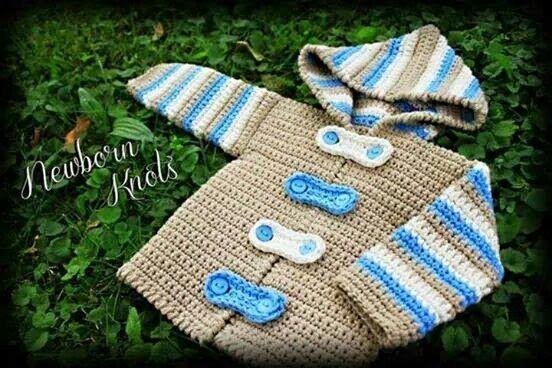 Knitting Jacket For Girl