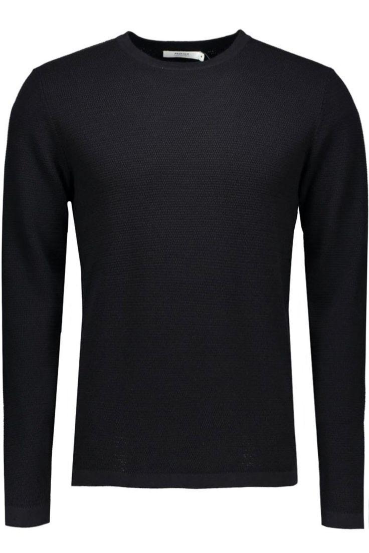 Jack & Jones Sweaters, truien & vesten Jprsteve Knit Crew Neck Noos 10102386 Zwart 1