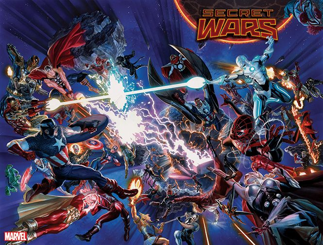 """Secret Wars"" Marvel"