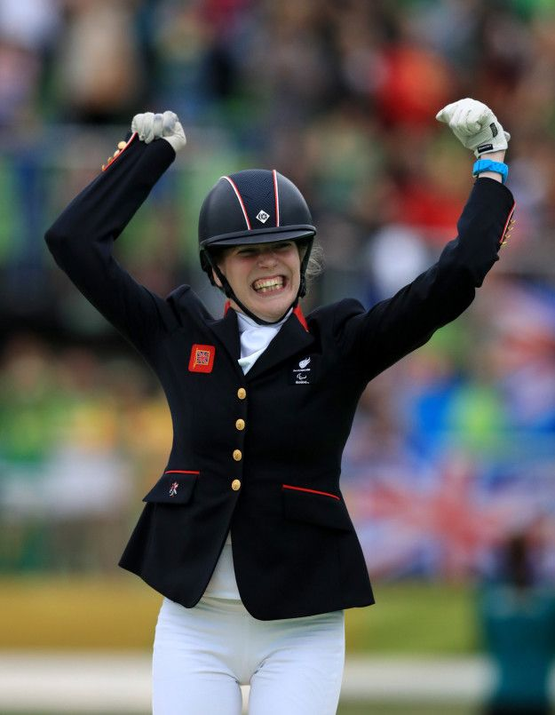 Sophie Christiansen: Gold in individual freestyle equestrian