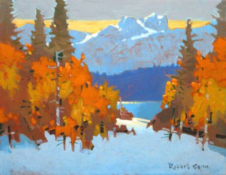 October Design Yoho Park by Robert Genn SFCA presented by Hambleton Galleries