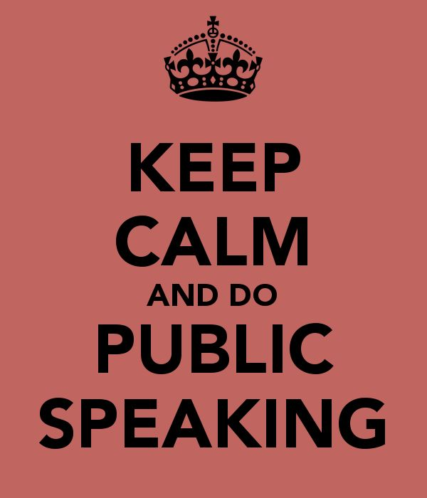Why I'm Happy About Taking Public Speaking