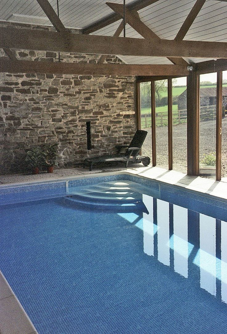 Best 25 indoor swimming pools ideas on pinterest indoor pools in houses amazing swimming - Simple houses design with swimming pool ...