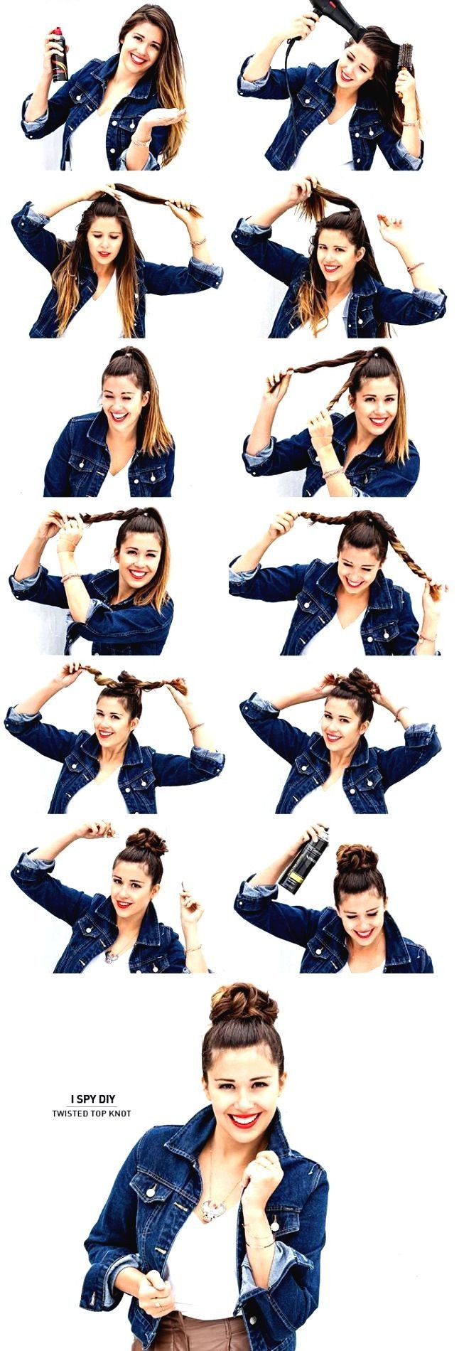 TOP 7 Easy Hairstyle Tutorials, an other post from the blog DIY Creative Ideas on Bloglovin.