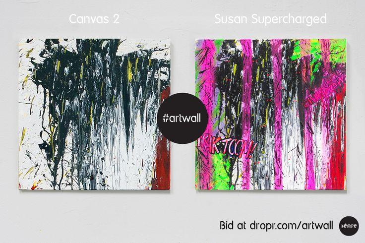 Susan Supercharged Bid @ http://dropr.com/auction  http://susansupercharged.tumblr.com/