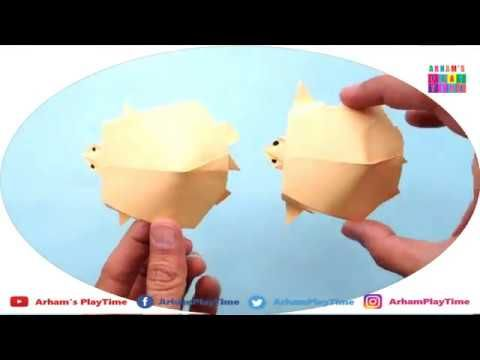 How To Make Paper Turtle or Tortoise Easily. This is part of Art and Craft Activity.  #ArhamPlayTime