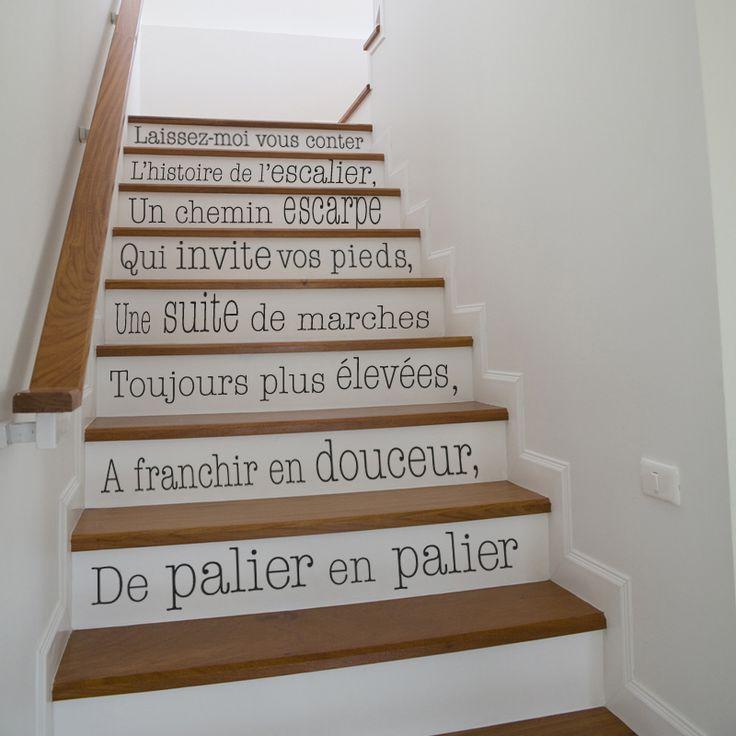 Best 25 stickers escalier ideas on pinterest stickers for Carrelage escalier