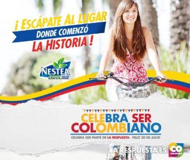Nestea #CelebraSerCOlombiano