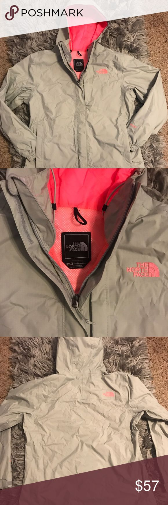 North Face Jacket North Face Hyvent Jacket / Women's The North Face Resolve Jacket, size small -Grey/Pink The North Face Jackets & Coats