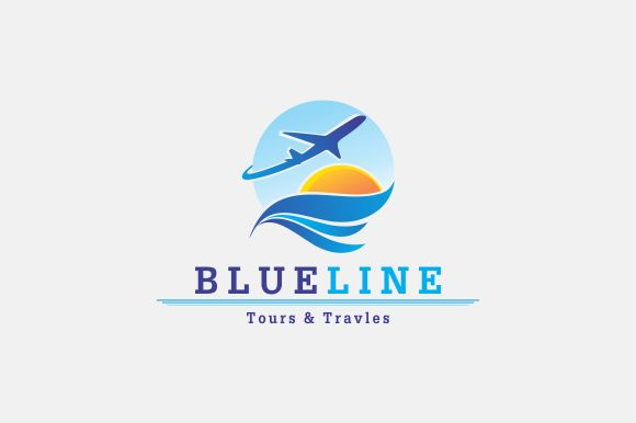 Tours & Travels Logo by A.R STUDIO on @creativemarket