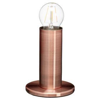 TAFELLAMP VESTA KOPER #kwantum #najaar #nieuw #verlichting #tafellamp #koper #KwantumNajaar