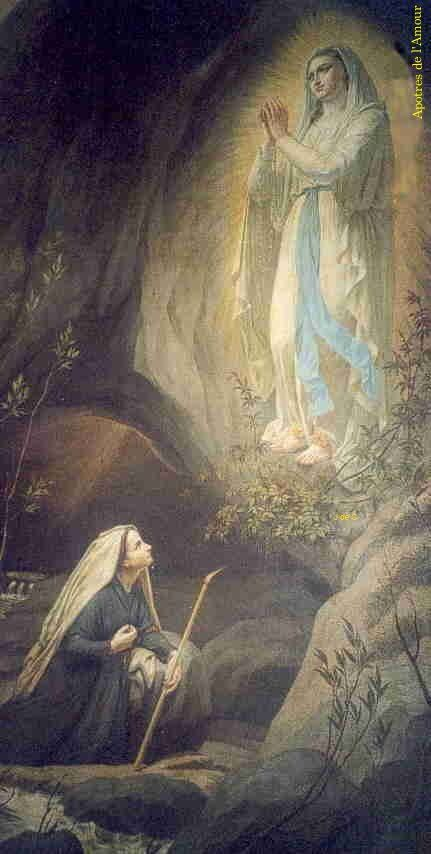 25 best ideas about our lady of lourdes on pinterest for Our lady of lourdes coloring page