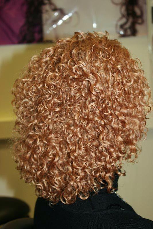 Tight curly perm!!!