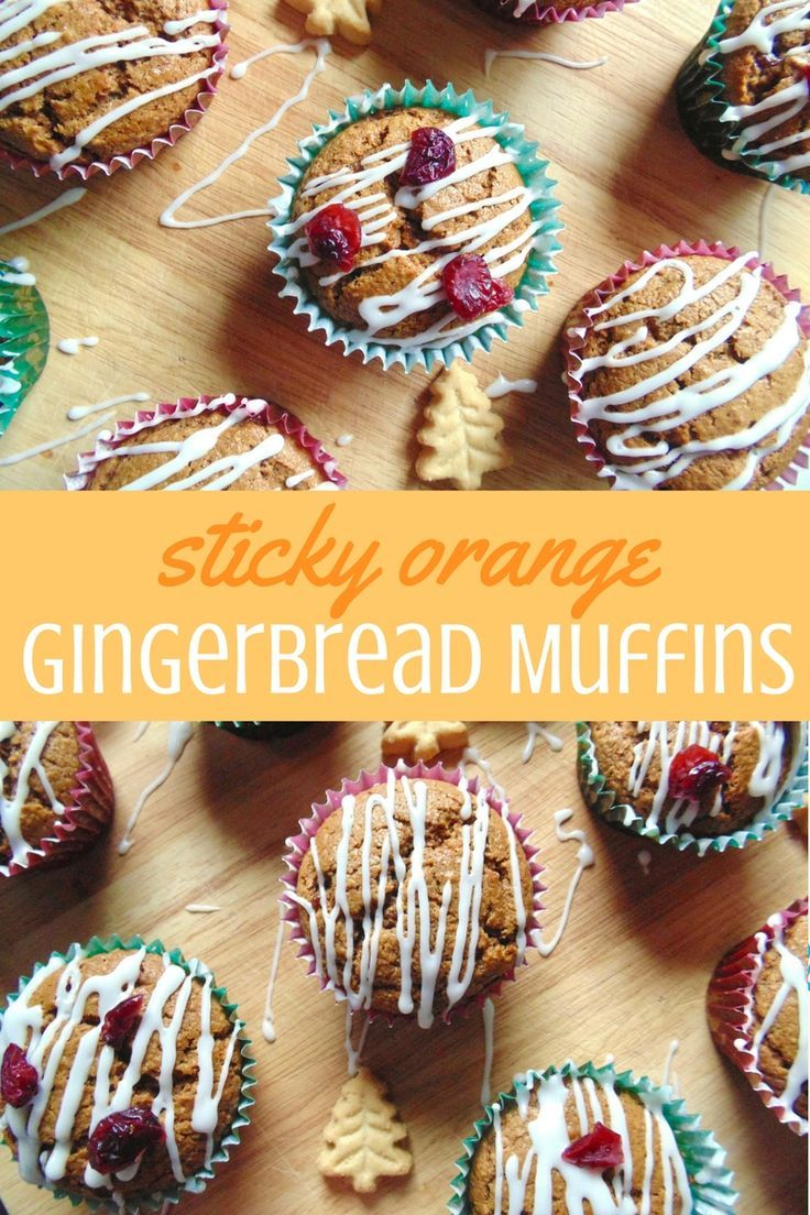 Fluffy, sweet and crammed full of Christmas spices, these muffins are a perfect festive bake!