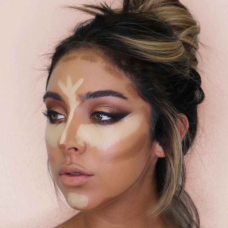 #Hightlight/Contour using my new BrittanyxMorphe nose contour brushes ! Showing product placement , last photo is NOT the final look just the areas I contour - - Foundation: @hourglasscosmetics stick foundation ( golden medium ) - Highlight: @hourglasscosmetics stick foundation ( bisque ) - Contour: @kkwbeauty contour sticks - Eyeshadow: @morphebrushes Jaclyn Hill pallet use code (BrittanyBear) for $$ off - Brushes: @morphebrushes my new ( 360 ) nose contouring brushes available Aug 15…