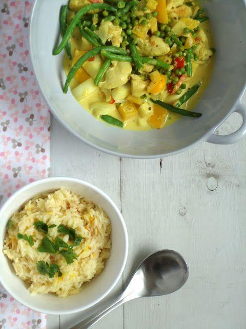 Lekker recept voor een gezonde groene curry met een eigen gemaakte currypasta.