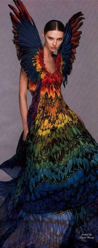 Alexander McQueen, Butterfly Couture Gorgeous!, HT
