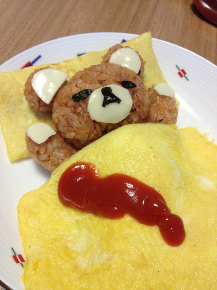 Omurice - That moment when you feel bad about eating something.
