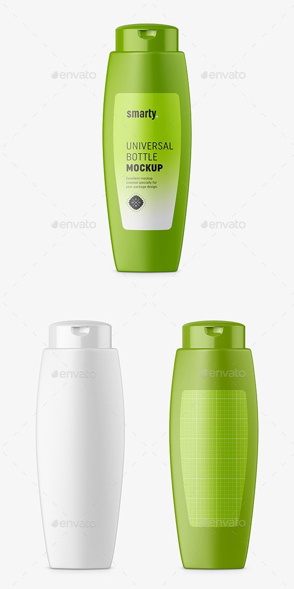 Cosmetic Bottle Mockup - #Beauty #Packaging Download here: https://graphicriver.net/item/cosmetic-bottle-mockup/20140499?ref=alena994