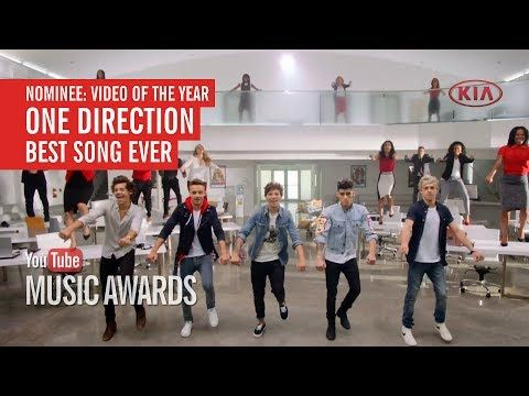 """I voted for One Direction's """"Best Song Ever"""" to win Video of the Year at... VOTE!!!"""