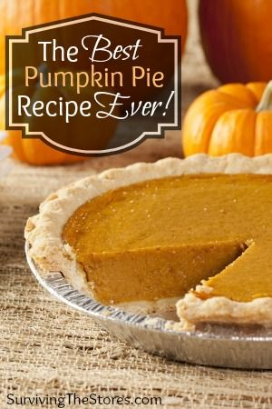 How to make the best pumpkin pie EVER! It even tastes awesome without the crust if you want to make it gluten-free or grain-free! (We have a lot of allergies in our family so I love that this recipe has lots of substitutions for different allergens!)