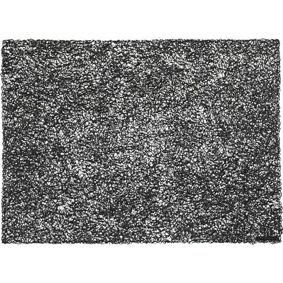 chilewich ® scribble black placemat | CB2