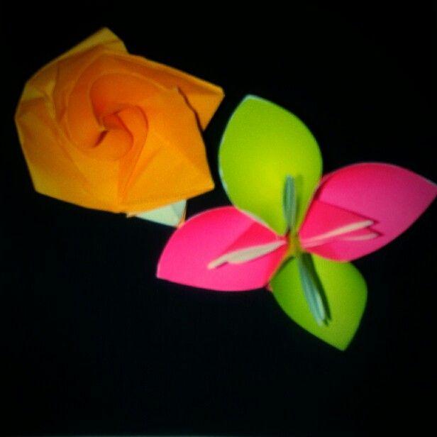 Kusudama Flower + Rose :D
