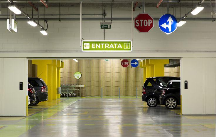 https://flic.kr/p/nUuQSH | Centro Sarca - restyling parcheggi e lobby di ingresso