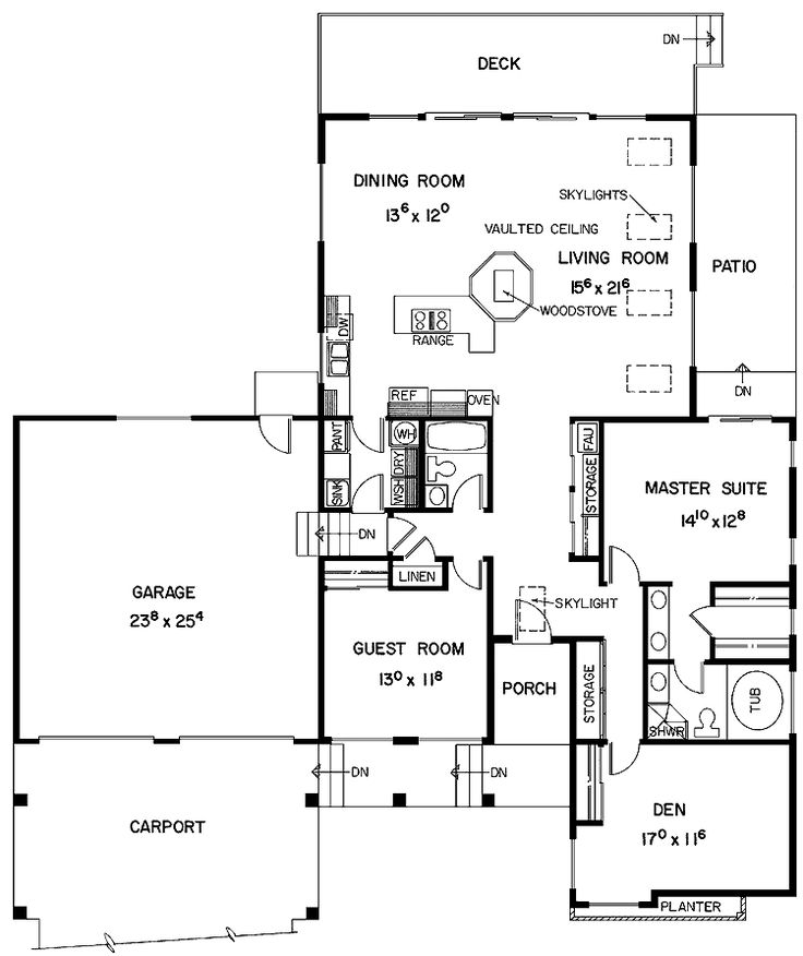 Small two bedroom house plans two bedroom house plans for Small two car garage