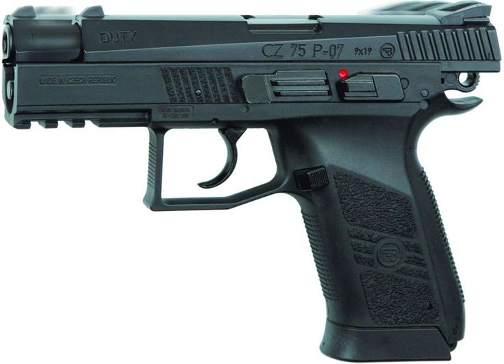 CZ 75 P07 DUTY BLOWBACK CO2