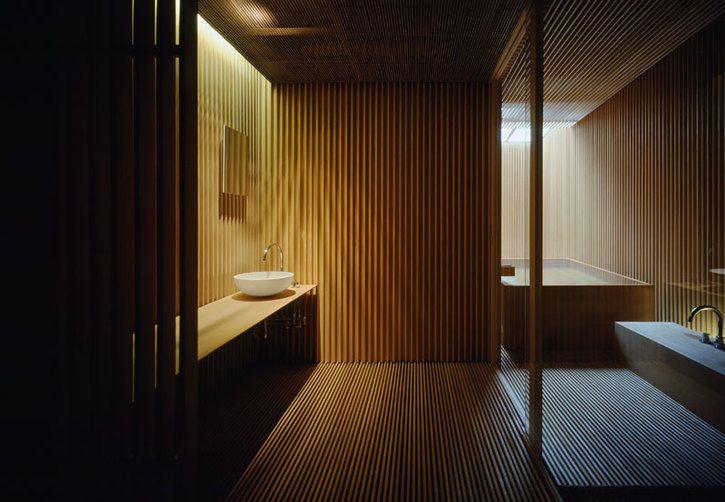 Agape Bathrooms in Japan by Kengo Kuma